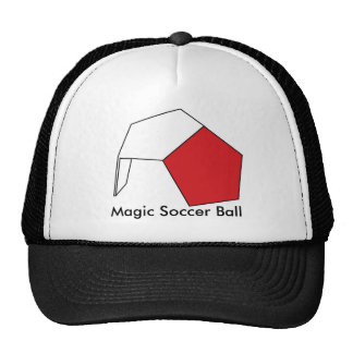 El balón de fútbol mágico gorras de camionero