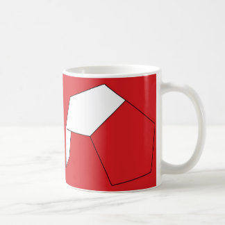 El balón de fútbol mágico taza de café