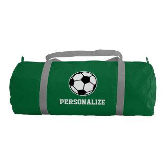 El balón de fútbol personalizado se divierte el bolsa de deporte
