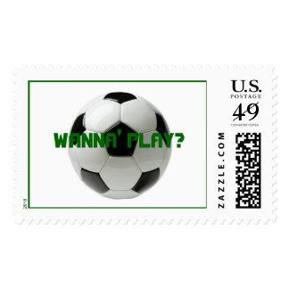 ¿el balón de fútbol QUIERE JUGAR