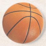 El baloncesto bebe el práctico de costa posavaso para bebida