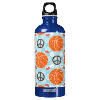 El baloncesto BPA del amor de la paz libera