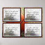 El baloncesto cita el poster 1-4
