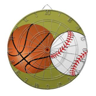 El baloncesto del béisbol se divierte color del pe