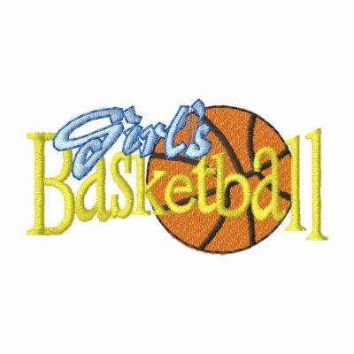 El baloncesto del chica polo