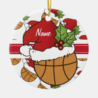 El baloncesto del navidad personaliza el ornamento ornamentos para reyes magos