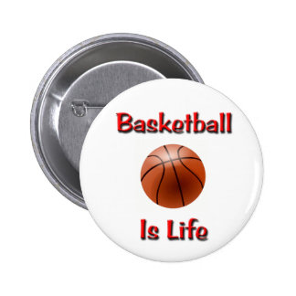 El baloncesto es vida pin