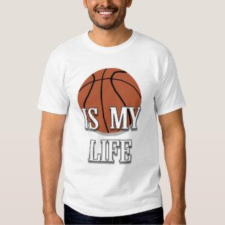 El baloncesto está en mi camiseta de la vida playera