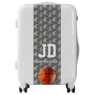 El baloncesto gobierna el regalo de los deportes maletas