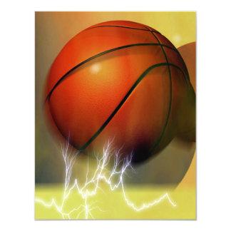 El baloncesto invita comunicado personalizado