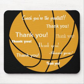 El baloncesto le agradece los regalos mouse pads