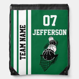 El baloncesto personaliza al equipo el | verde mochilas