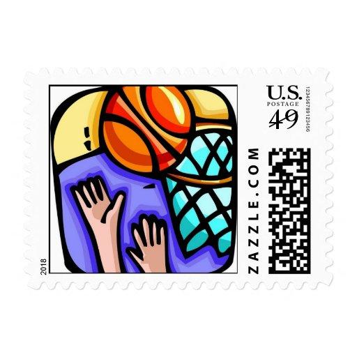 el baloncesto se divierte el sello