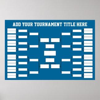 El baloncesto se divierte el soporte del torneo poster