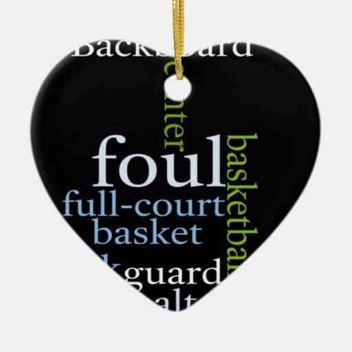 El baloncesto se divierte Fanatic.jpg Ornaments Para Arbol De Navidad