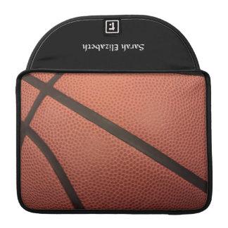 El baloncesto se divierte imagen funda para macbooks