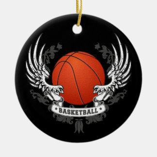 El baloncesto se va volando el ornamento ornamento para reyes magos