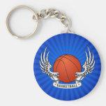 El baloncesto se va volando llavero