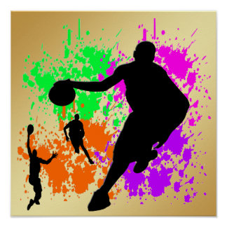 El baloncesto soña el poster