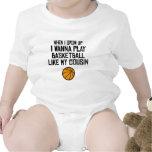 El baloncesto tiene gusto de mi primo trajes de bebé