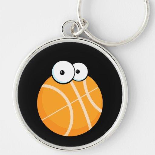el baloncesto tonto del personaje de dibujos anima llaveros