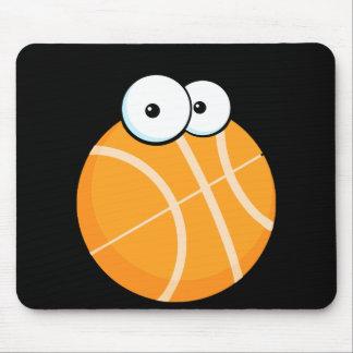 el baloncesto tonto del personaje de dibujos anima tapete de raton
