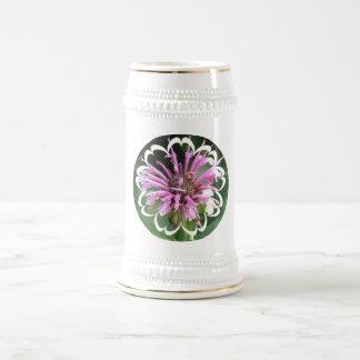 El bálsamo de abeja florece la cerveza Stein Taza