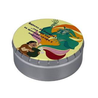 El bálsamo de Fierabras, ahorra tiempo y medicinas Frascos De Caramelos