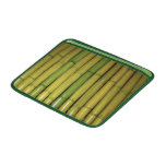 El bambú asiático del verde del zen acecha la foto fundas MacBook