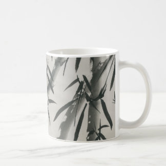 El bambú es el símbolo para la longevidad taza