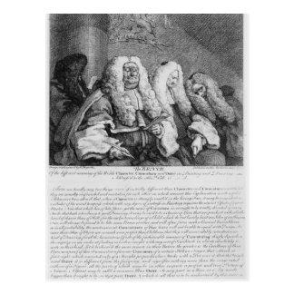 El banco, 1758 tarjetas postales