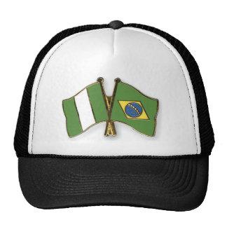 El Bandera-Perno-Nigeria-Brasil Gorros