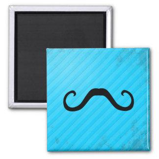 El Bandido Mustache (alternative) 2 Inch Square Magnet
