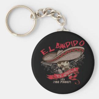El Bandido Tequila Keychain