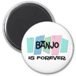 El banjo es Forever Imanes