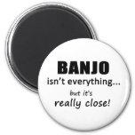 El banjo no es todo iman para frigorífico