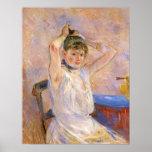 El baño de Berthe Morisot Poster