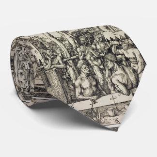 El baño de los hombres de Albrecht Durer Corbata Personalizada