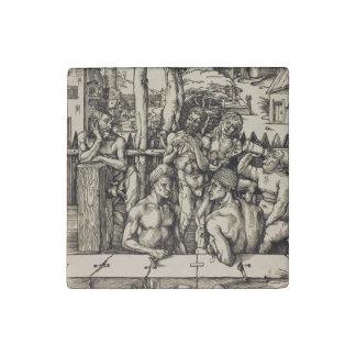 El baño de los hombres de Albrecht Durer Imán De Piedra