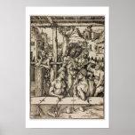 El baño de los hombres de Albrecht Durer Poster