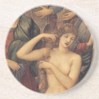 El baño de Venus de sir Edward Coley Burne Jones Posavasos Cerveza