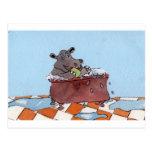 El baño del hipopótamo de Humphrey de Sue Ellis.jp Tarjeta Postal