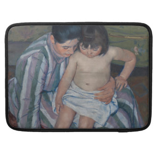 El baño del niño de Mary Cassatt