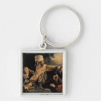 El banquete c.1636-38 del Belshazzar Llaveros
