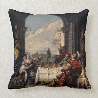 El banquete de Anthony y de Cleopatra, c.1744 (ace Cojines
