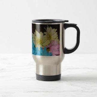 El banquete de boda florece destino del amor de la taza de café