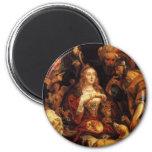 El banquete de Cleopatra Imán Redondo 5 Cm