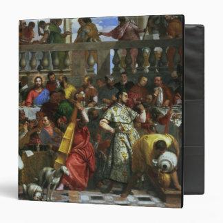 """El banquete de la boda en Cana, detalle de los Carpeta 1 1/2"""""""