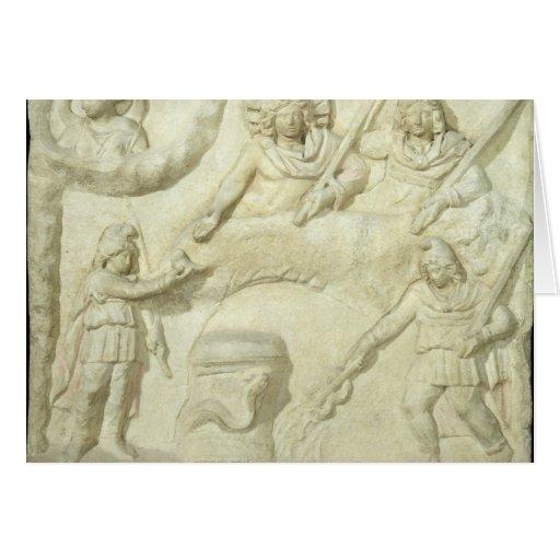 El banquete de Mithras y del Sun Tarjeta De Felicitación