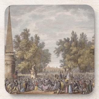 El banquete de Virgil en Mantua, 24 Vendemiaire, Y Posavasos